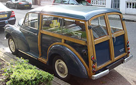 "Morris Minor Traveller ""Woody"""